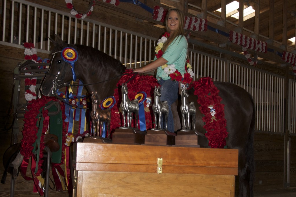 Keeley Wins Arabian Youth Nationals